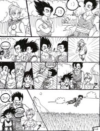 dbz porn comics wierd dbz comic part entry