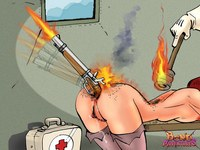ass porn comics galleries srv bondadventures firing gun nurses ass pic