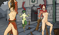 avatar cartoon porn pics bffc avatar last airbender azula toph bei fong lee disclaimer hentai picture from cartoon
