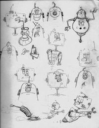 ay papi cartoon pre cartoon robot sketch study xlhxx morelikethis cartoons traditional