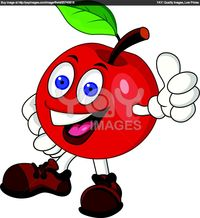 ay papi cartoon red apple cartoon character papi pic page