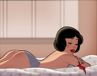 ay papi dat ass morning snow white cosbinator sezl morelikethis cartoons