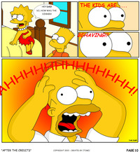 simpsons porn comic bart simpson lisa simpsons comic itomic