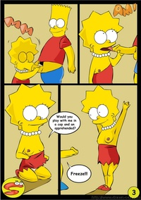 simpsons porn comic media bart lisa porn
