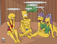 simpsons porn comic hentai comics simpsons tree house fun