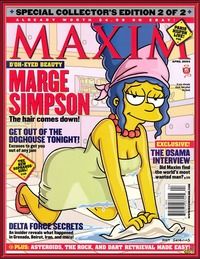 simpsons porn comic marge simpson maxim cover all simpsons channel could way woo hoo