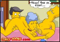 simpsons porn comic cartoon simpsons bart lisa having