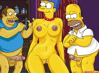 simpsons porn comic cartoon simpsons famous marge porno