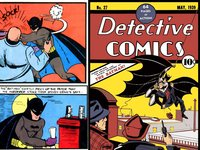 batman cartoon porn comics may batmans appearance detective comic batman wore bulletproof vest under his suit had purple gloves also standard belt round buckle evolution batsuit