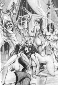bdsm cartoon porn pics bondage porn cartoon bdsm male milking photo