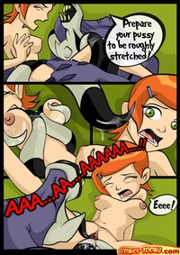 ben 10 cartoon comic porn media original ghost along gwen mass effect porn comic