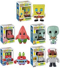 spongebob squarepants porn spongebob squarepants pop vinyl figures funko patrick squidward krabs sandy