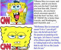 spongebob squarepants porn media original cnn bias brought spongebob squarepants liberal broken checkered flag hentai