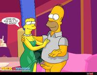 best sex toons wmimg simpsons comic marge cartoon homer sexy toons