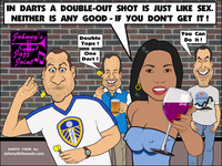 big sex toons johnny witkowski darts cartoon toon double out lufc