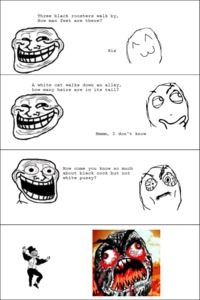 black dick comics pics funny pictures auto rage comics troll dad