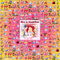 alice in wonderland porn media original alice wonderland blotter art perforated psychedelic ebay