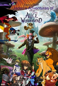 alice in wonderland porn alice wonderland movie poster released from disney