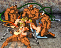 blonde cartoon porn dmonstersex scj galleries animated cartoon orgy four giants three blonde sluts