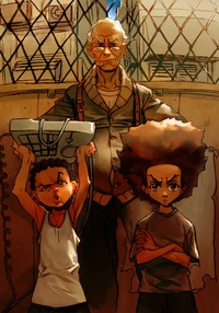 boondocks cartoon porn pics boondocks tough love lesean huey freeman from