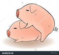 cartoon animal porn pics stock vector cartoon animal couple pigs having funny breeding isolated background create pet
