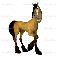 cartoon animal porn pictures media original illustration pretty cartoon horse isolated white background sexy toon vids