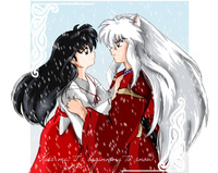 inuyasha porn inuyasha kagome share their kiss from movie