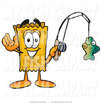 cartoon characters porn free clip art yellow admission ticket mascot cartoon character holding fish fishing line toons biz cartoons free