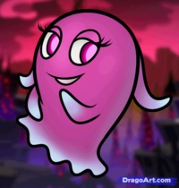 cartoon characters porn free how draw pinky from pac man ghostly adventures cartoon porn drawing tutorial