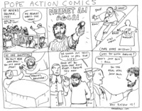cartoon comic fuck pope action comic entry
