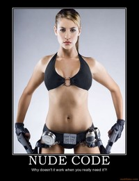 lara croft porn demotivational poster nude code lara croft tomb raider angelina joilie audio porn cover art