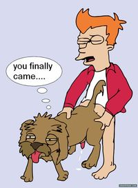 cartoon dog porn pics media original futurama dog rule