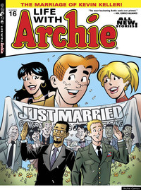 cartoon family porn comics gen archie comics revealed kevin keller gay comic wedding