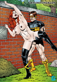 cartoon fucking comic men porn show cyclops sucks jean grey pussy