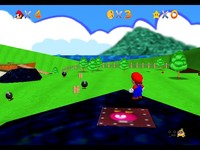 cartoon mario porn pics videogames screenshot super mario cartoon graphics play legend zelda ocarina time retextured online nintendo game