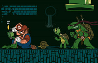 cartoon mario porn pics dnet media pictures mario tmnt