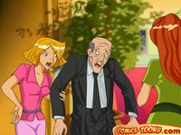 cartoon network porn galleries rated drawings totally spies movie