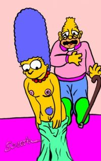 famous cartoon porn cartoon simpsons toons