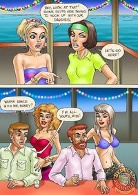 cartoon porn comic pic seduced amanda porn comic beach