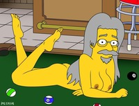 cartoon porn the pat kassab rule simpsons cartoon avenger matt groening