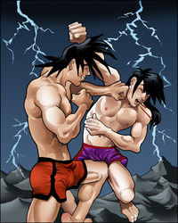 dragon ball z porn comics media original alternative dragon ball kai naked chichi trunks