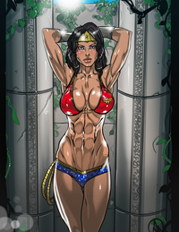 cartoon pron new wonder womans bikini ganassa