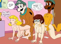 cartoon scooby doo porn pics media original inspector gadget penny porn scooby doo crossover