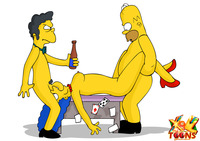 cartoon sex and porn marge simpson group