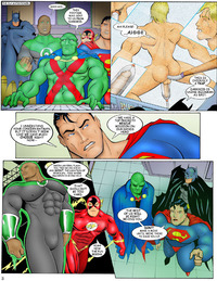 justice league porn lusciousnet justice league gay porn pictures album every sperm sacred comic