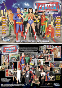 justice league porn web jla box front back