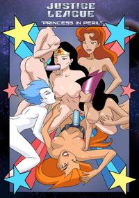 justice league porn hentai comics justice league princess peril flash from having
