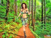 cartoon sex here dmonstersex scj galleries army girl jogging searching monster cartoon