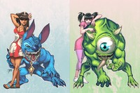 lilo and stitch nani porn media original lilo stitch boo monsters inc mike wazowski