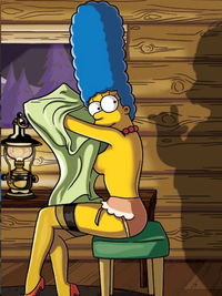 marge simpson porn photos january marge simpson sexy lingerie simpsons women